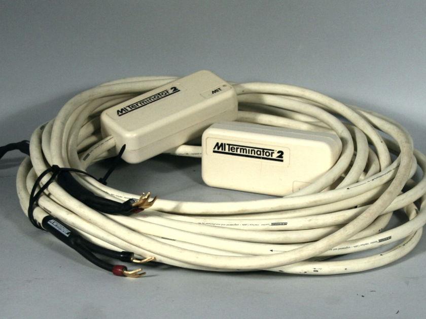 MIT Cables Terminator 2 Speaker Wires 24' Pair, No Reserve!