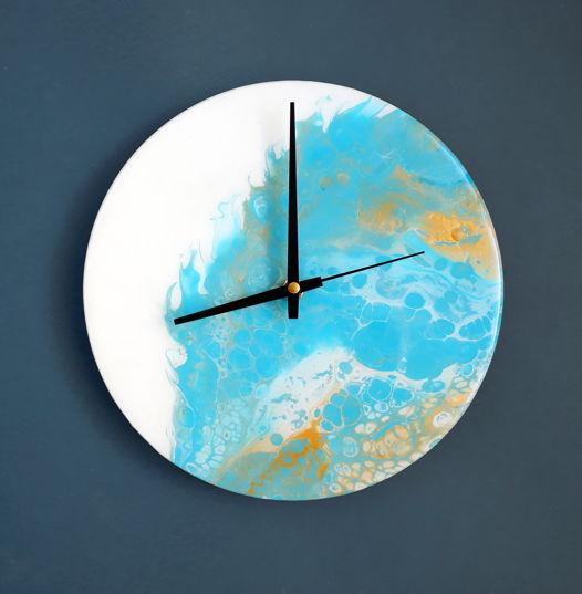 """Часы на стену """"Лазурный берег"""""""