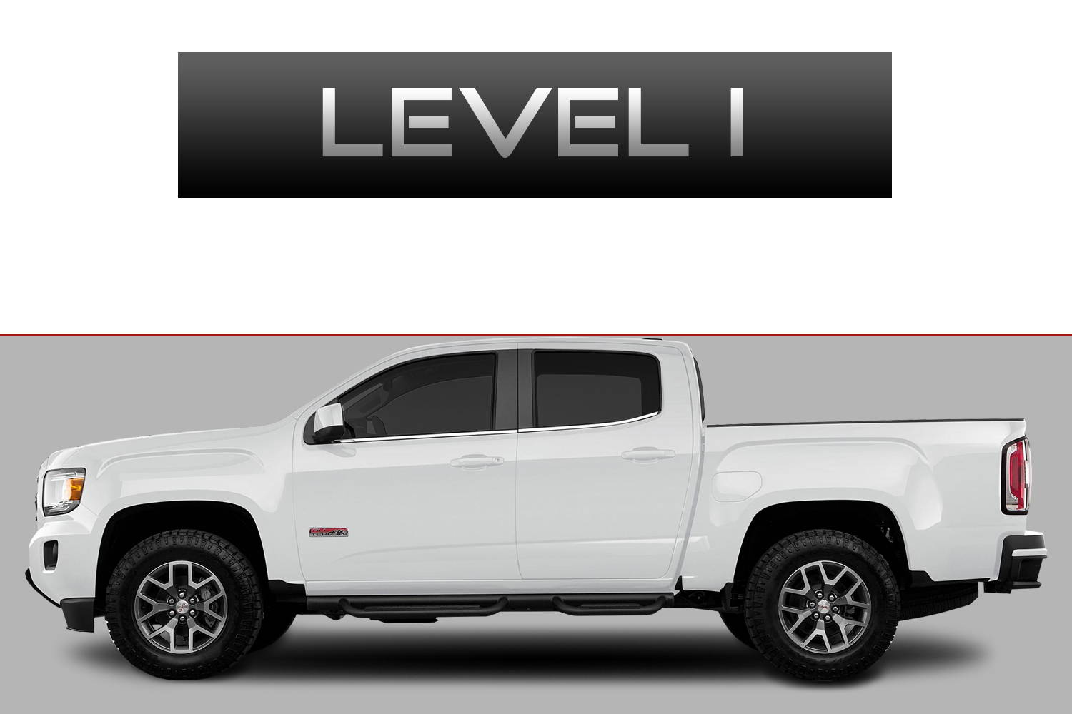 GMC Canyon Off-Road Customizing Package Level 1 by 3C Trucks