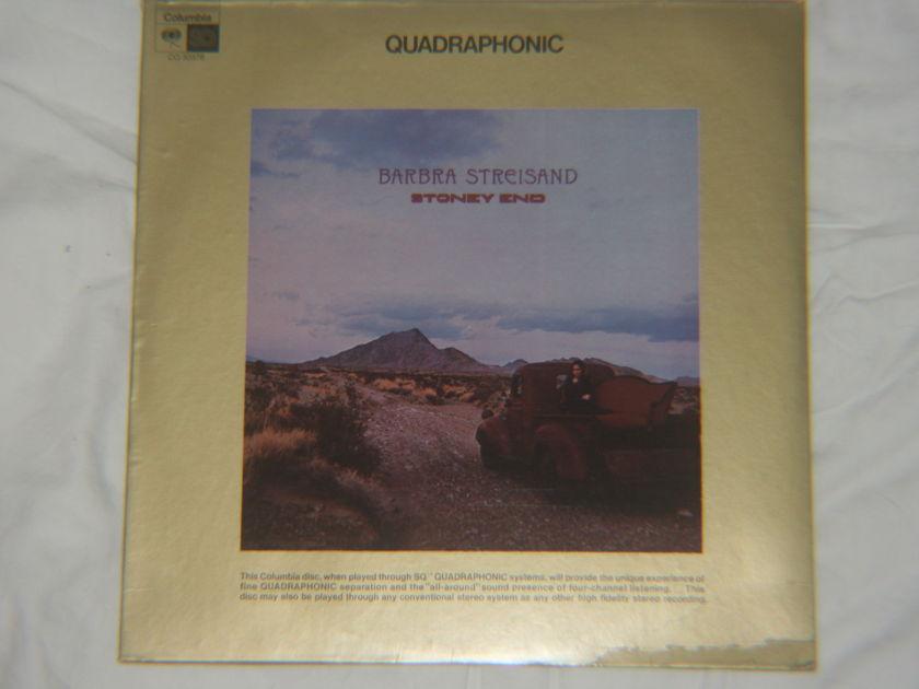 Barbra Streisand - Stoney End Columbia CQ 30378
