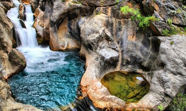 Сападере каньон из Аланиьи