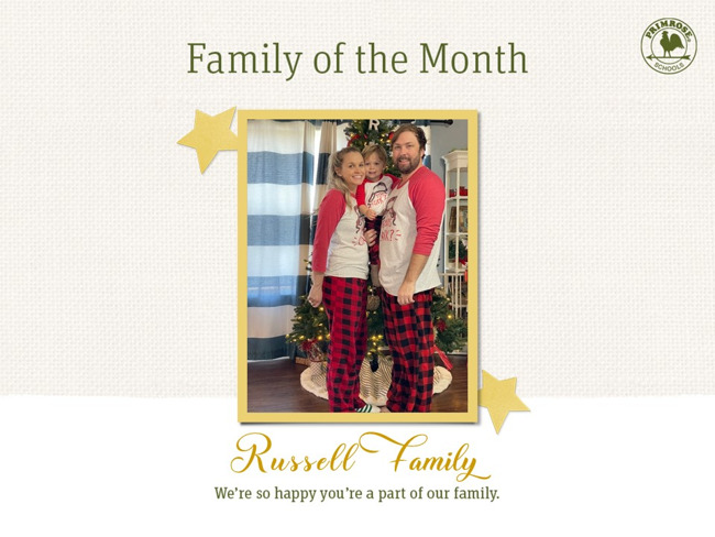 Russell Family of the Month