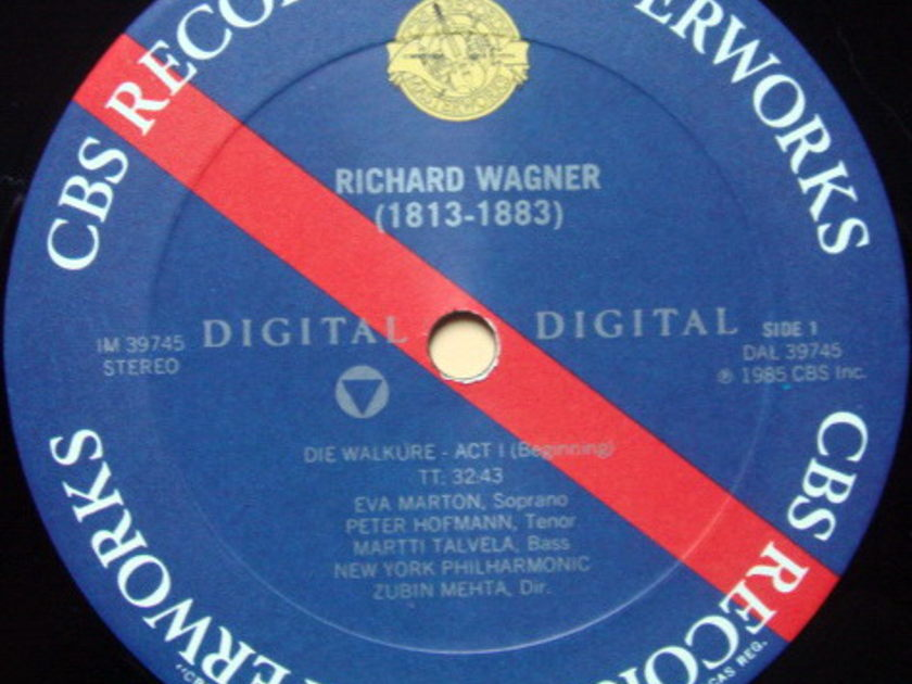 CBS Digital / MEHTA, - Wagner Die Walkure Act 1, MINT!