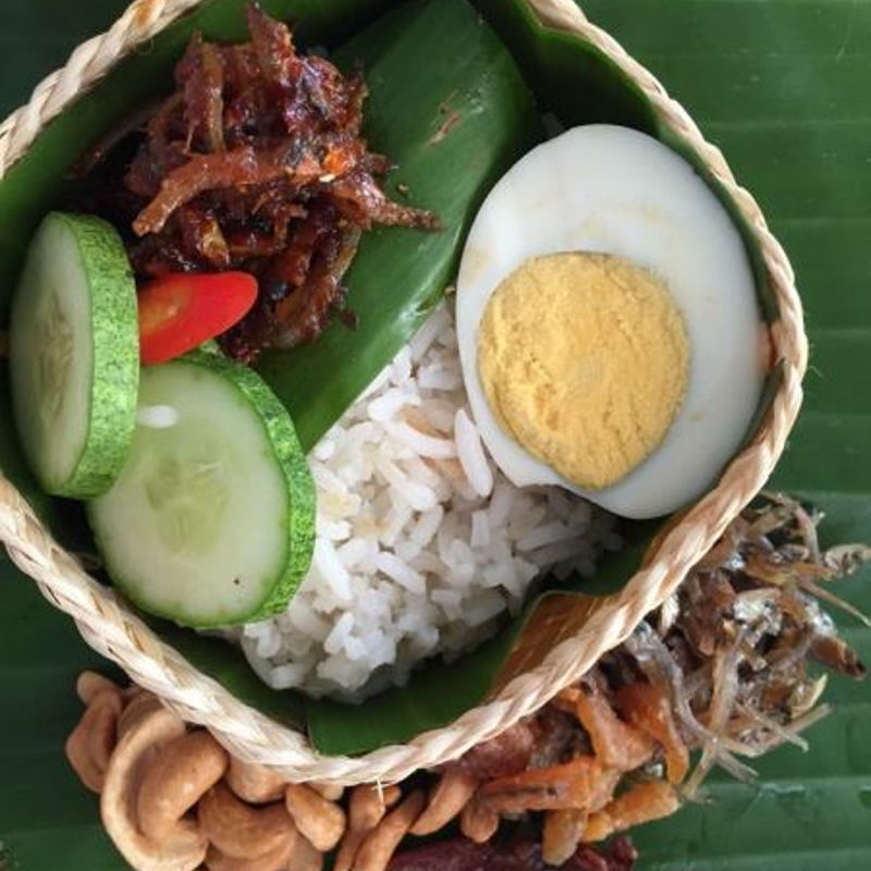 This is Nasi Lemak from Bangkok