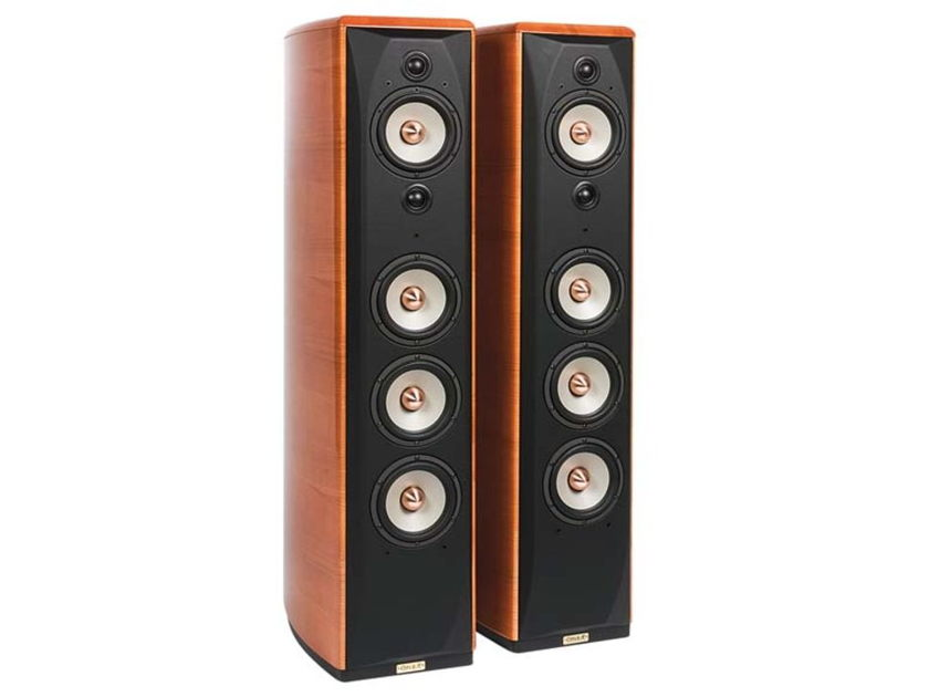 Opera Loudspeakers - Grand Callas Mk 1 - Cherry Finish - NEW in Factory Sealed Boxes