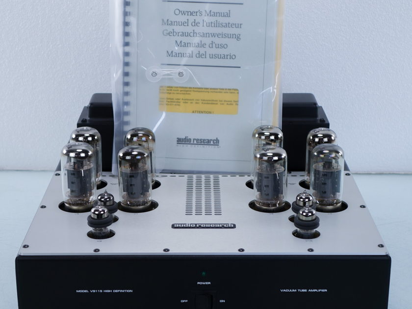 Audio Research  VS115 Tube Power Amplifier (8140)