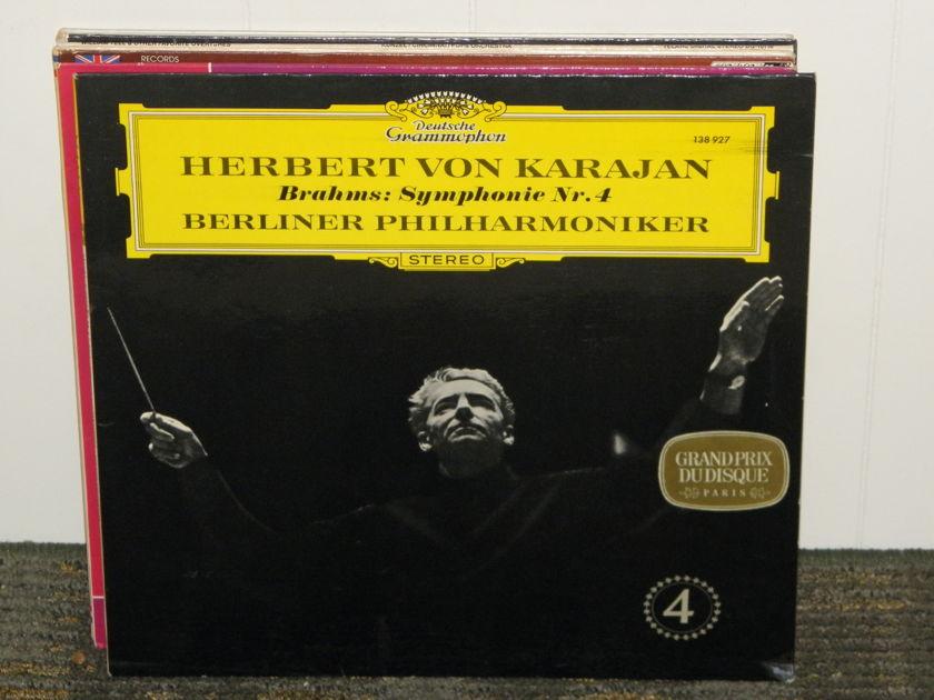 Herbert Von Karajan/Berlin Philharmonic - Brahms Symphony No. 4 DG 138 927 German Pressing