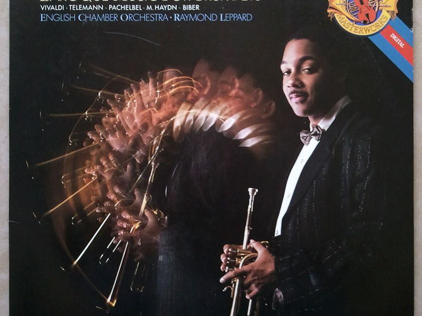CBS Digital | WYNTON MARSALIS - - Baroque Music for Trumpets - Vivaldi, Telemann, Pachelbel, Haynd, Biber / NM