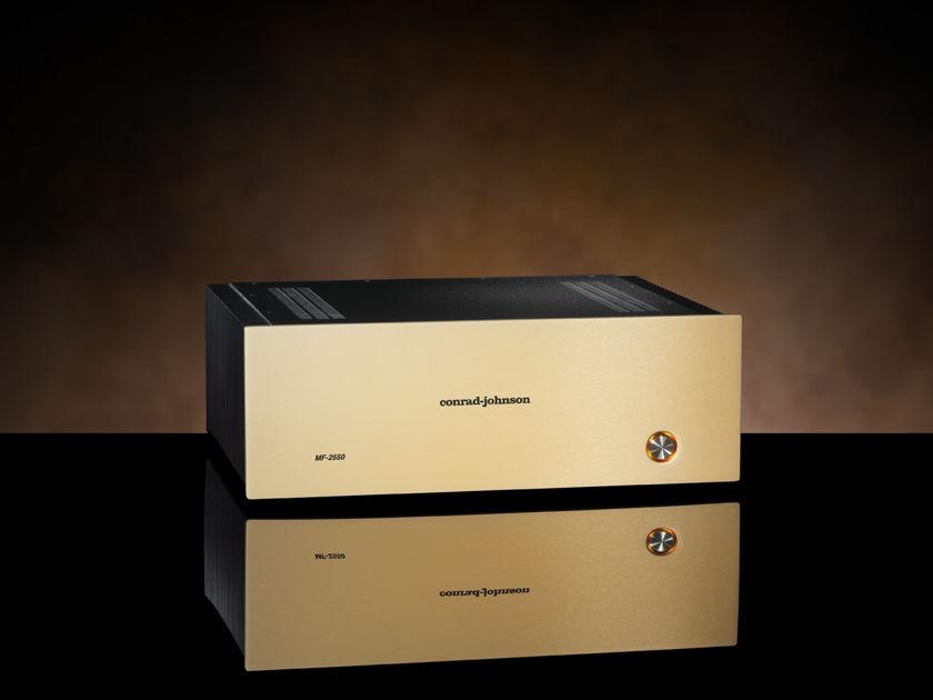 conrad johnson MF2550 Power Amplifier, New with Full Warranty
