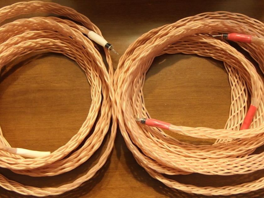 Jena Labs Twin 11 Stereo Spkr. Cables 9.5ft