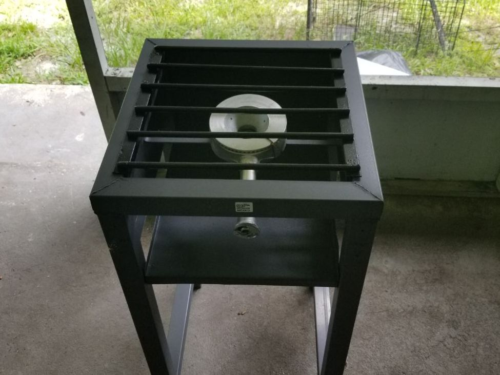 RENTERS BAY: Light weight steel burner