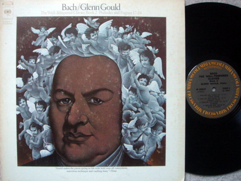 Columbia / GLENN GOULD, - Bach Well-Tempered Clavier Book 2, NM-!
