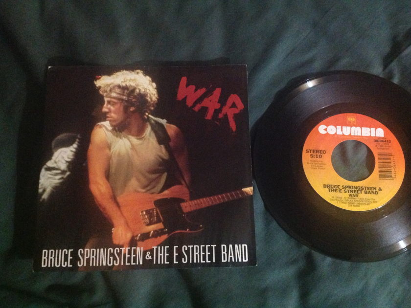 Bruce Springsteen - War 45 With Sleeve