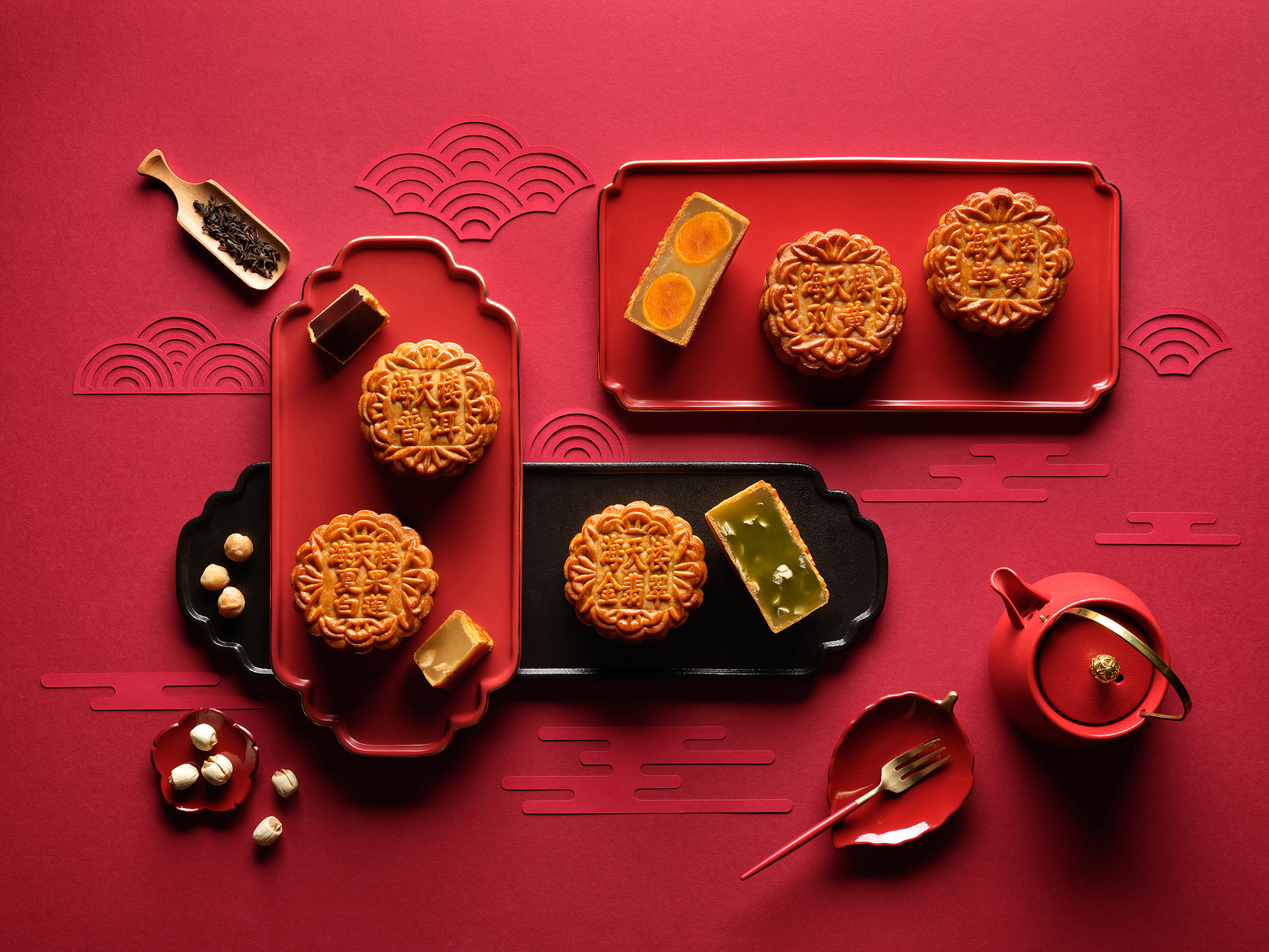 An Exquisite Medley of Handcrafted Mid-Autumn Delights