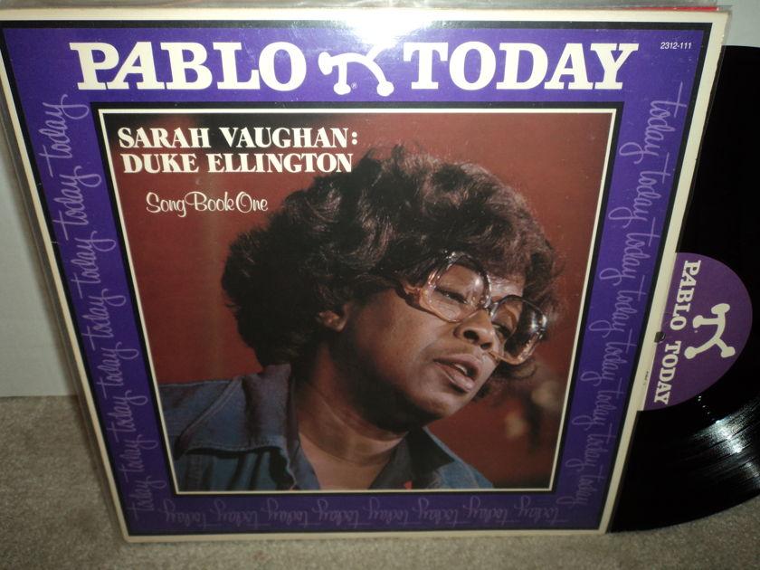 Sarah Vaughan & Duke Ellington - Song Book One Pablo NM