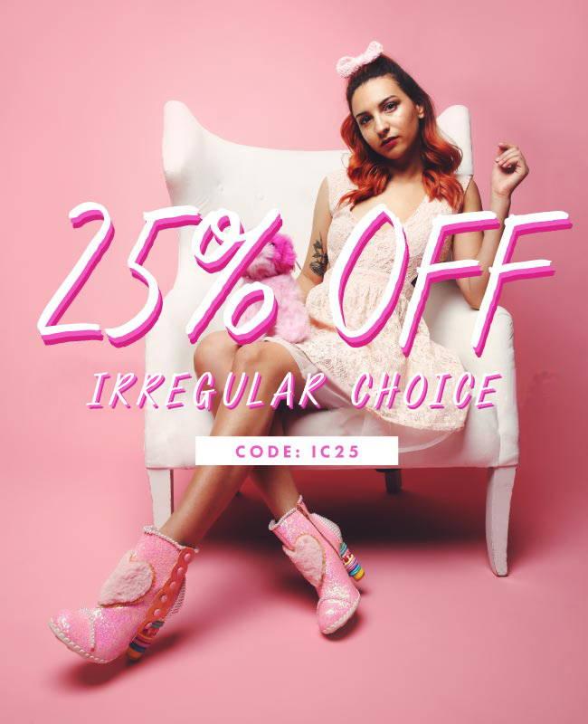 25% Off Irregular Choice | Code IC25