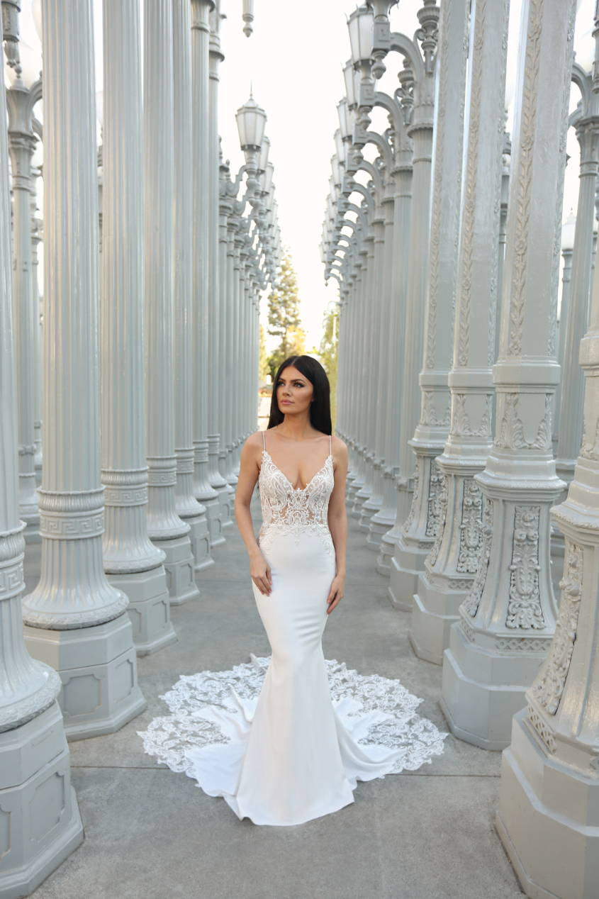 ENZOANI LENA WEDDING DRESS