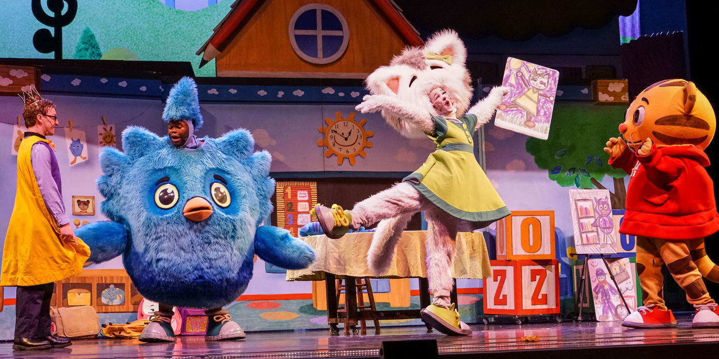 Daniel Tiger's Neighborhood at the Shubert Theatre