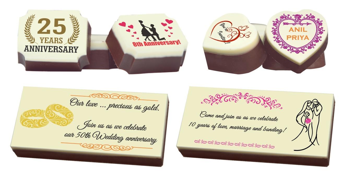 chocolates for wedding anniversary