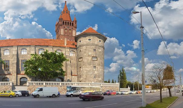 Королевский замок восстановлен - экскурсия с дополненной реальностью