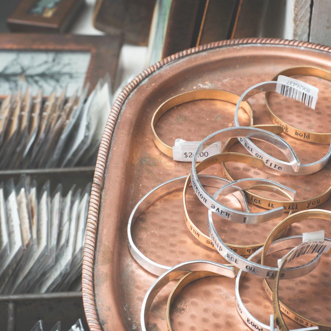 Primitive Beginnings Ways to Wear Jewelry