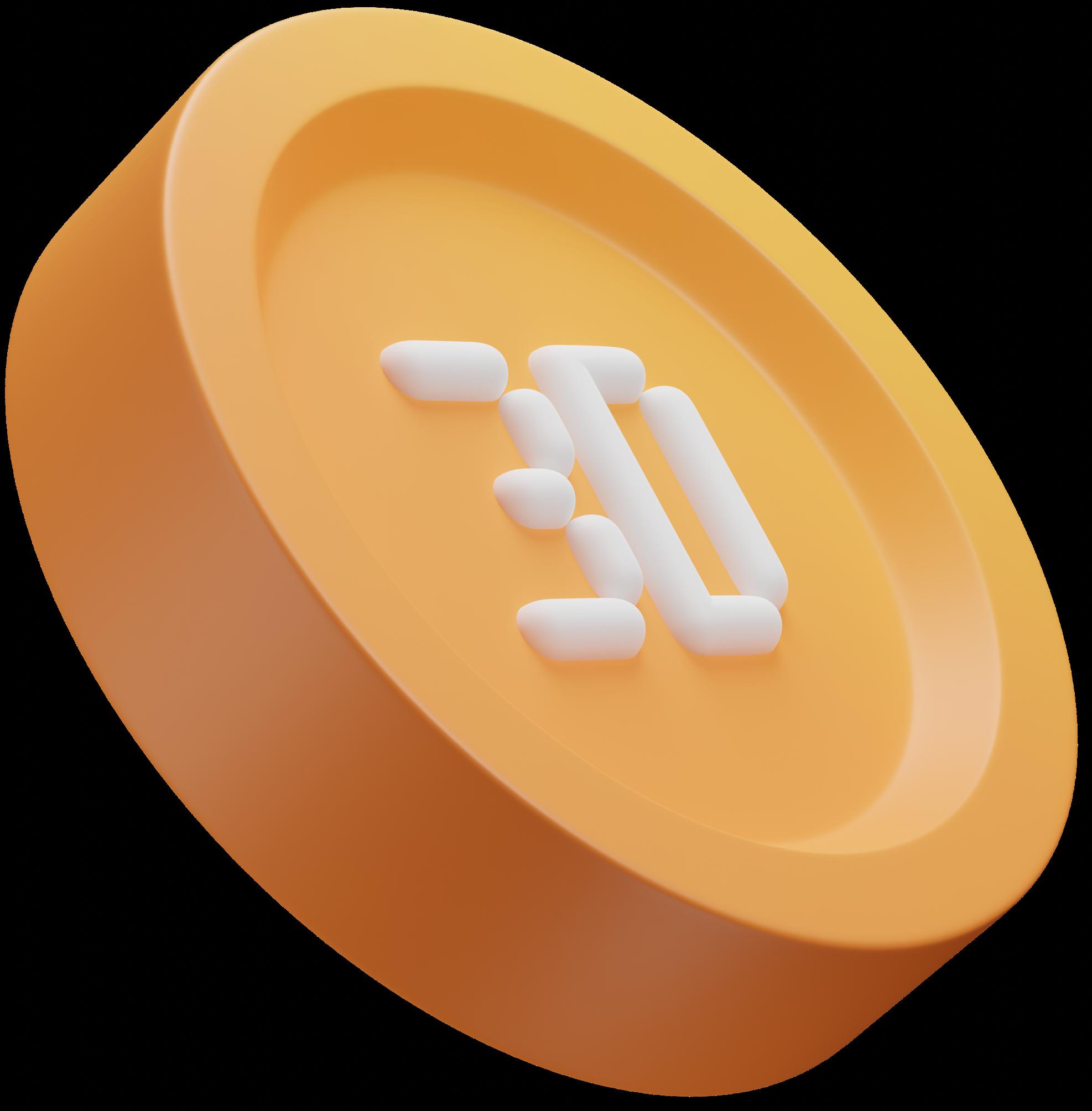 3d coin dynamic color