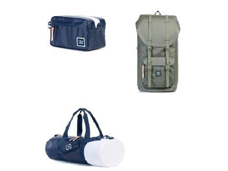 """Herschel Supply Company's """"Adventures Bag"""" Set"""