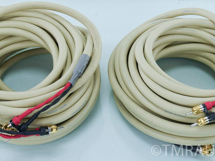 Cardas  Neutral Reference Speaker Cables;  15m Pair; Bananas (8885)