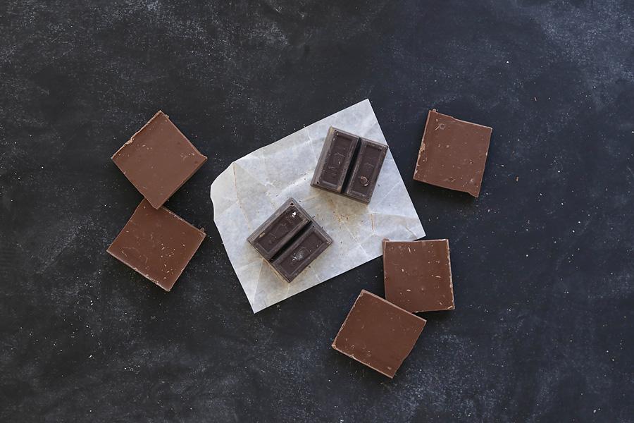 Stevia Sweetened Dark Chocolate