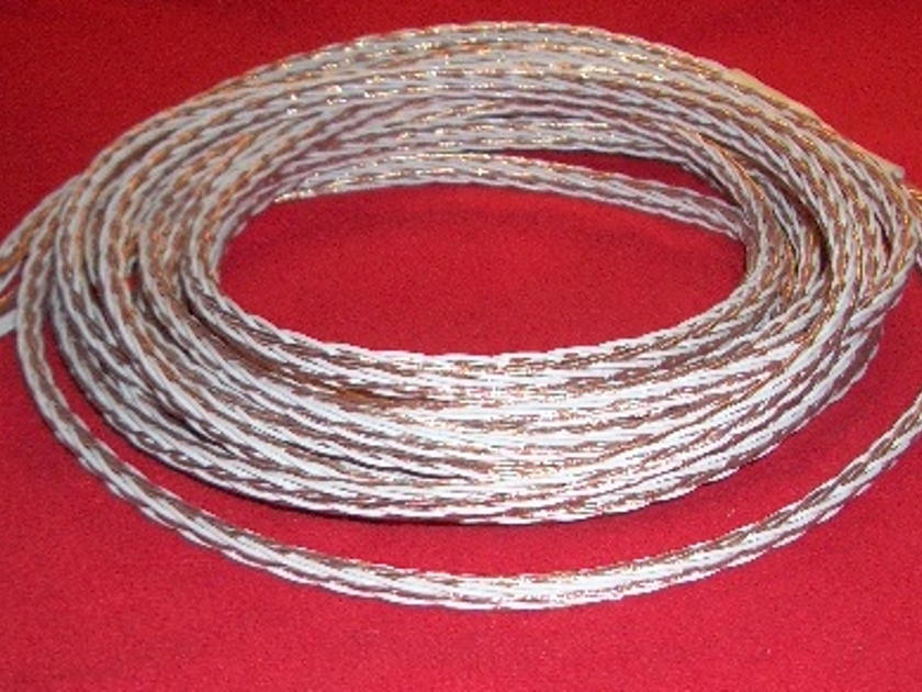 Kimber Kable 8TC Double Biwire White/Gold 4.5 meter pair w/bananas