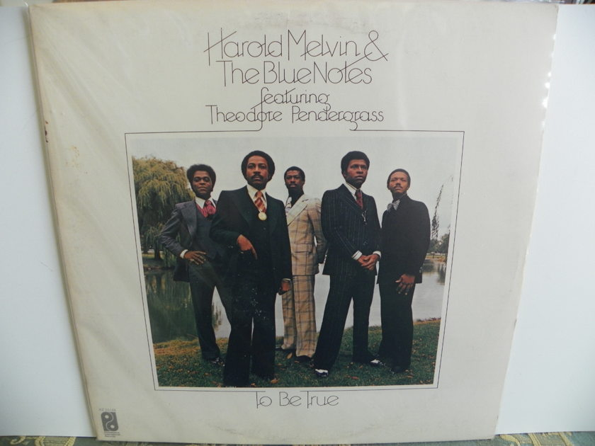 HAROLD MELVIN & THE BLUE NOTES - TO BE TRUE FEATURING THE GREAT TEDDY PENDERGRASS