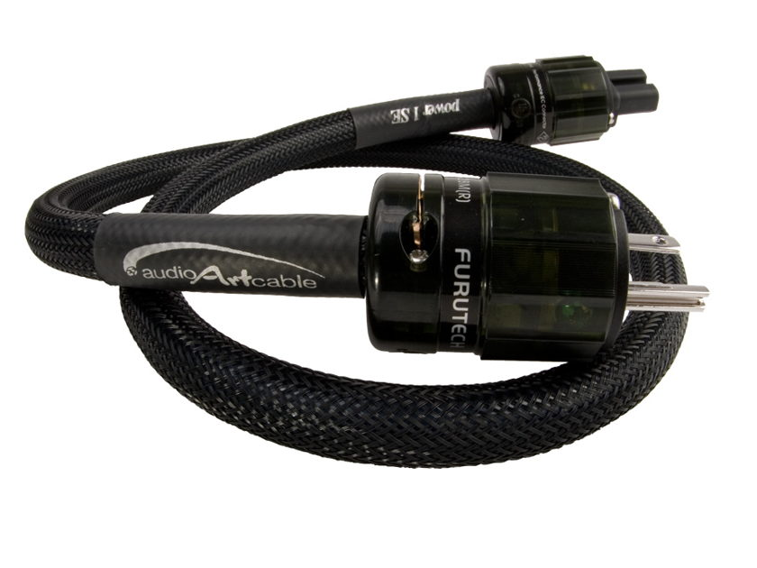 Audio Art Cable power 1SE --Cost No Object Performance, Audio Art Cable Price!  See the 6Moons.com and Steretomes.com reviews!