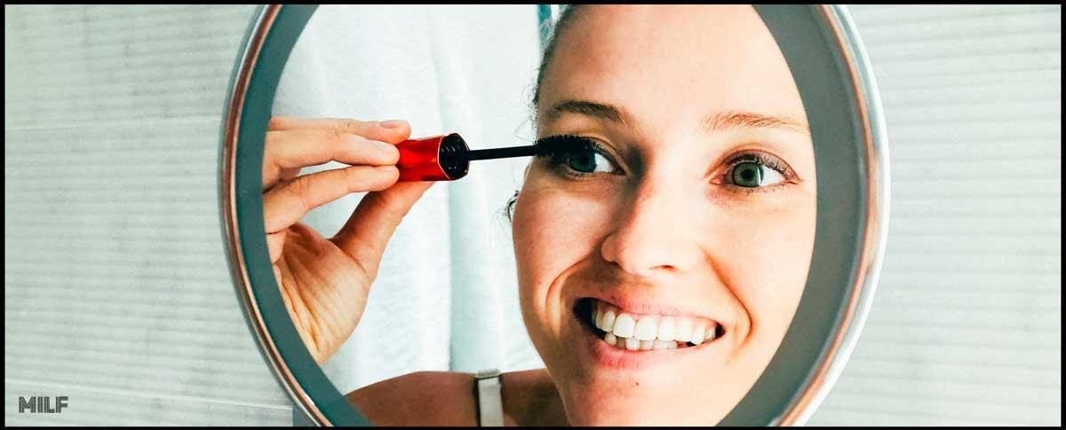 appliquez votre mascara apres l'utilisation