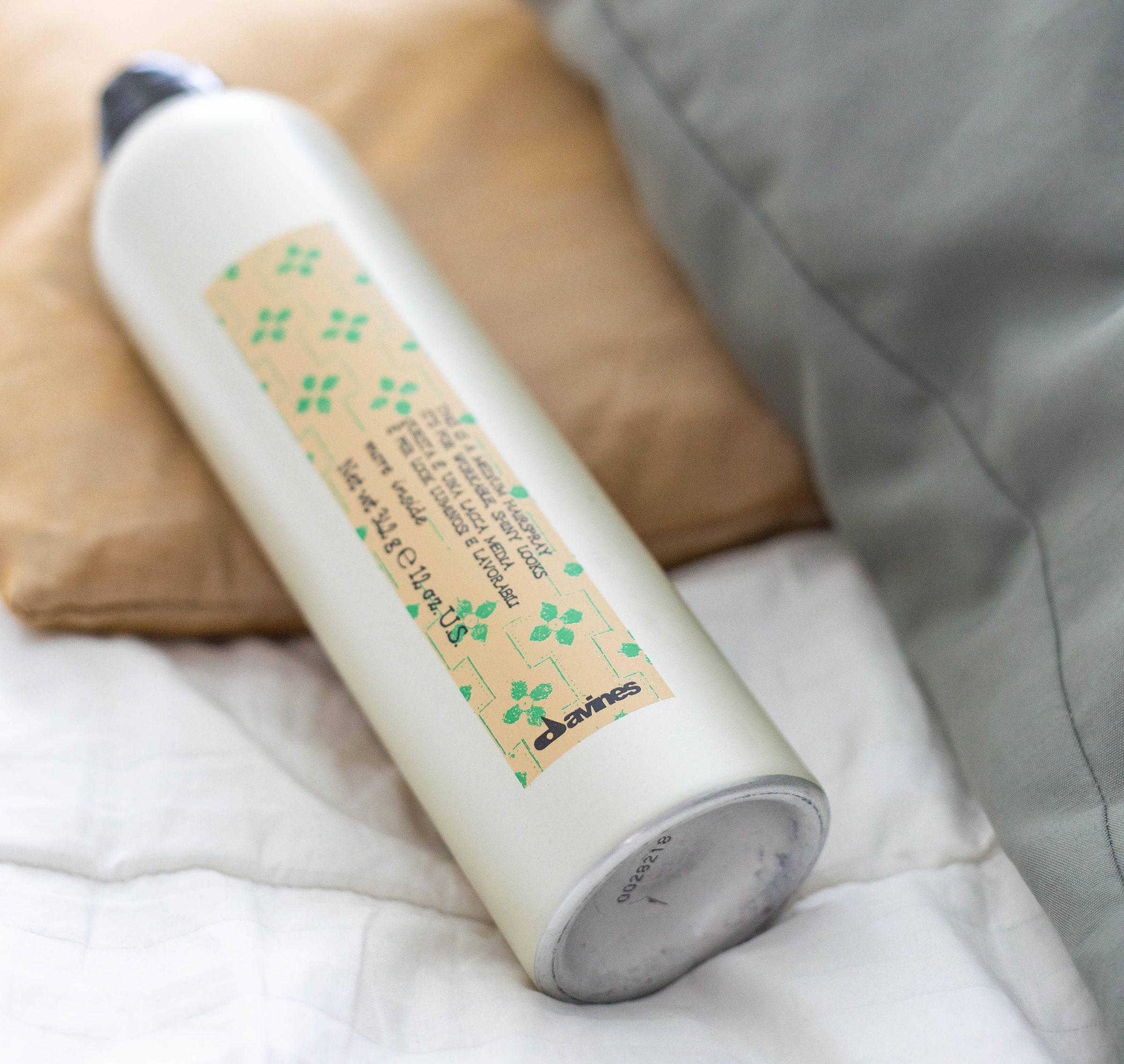 Davines medium hold hairspray more inside