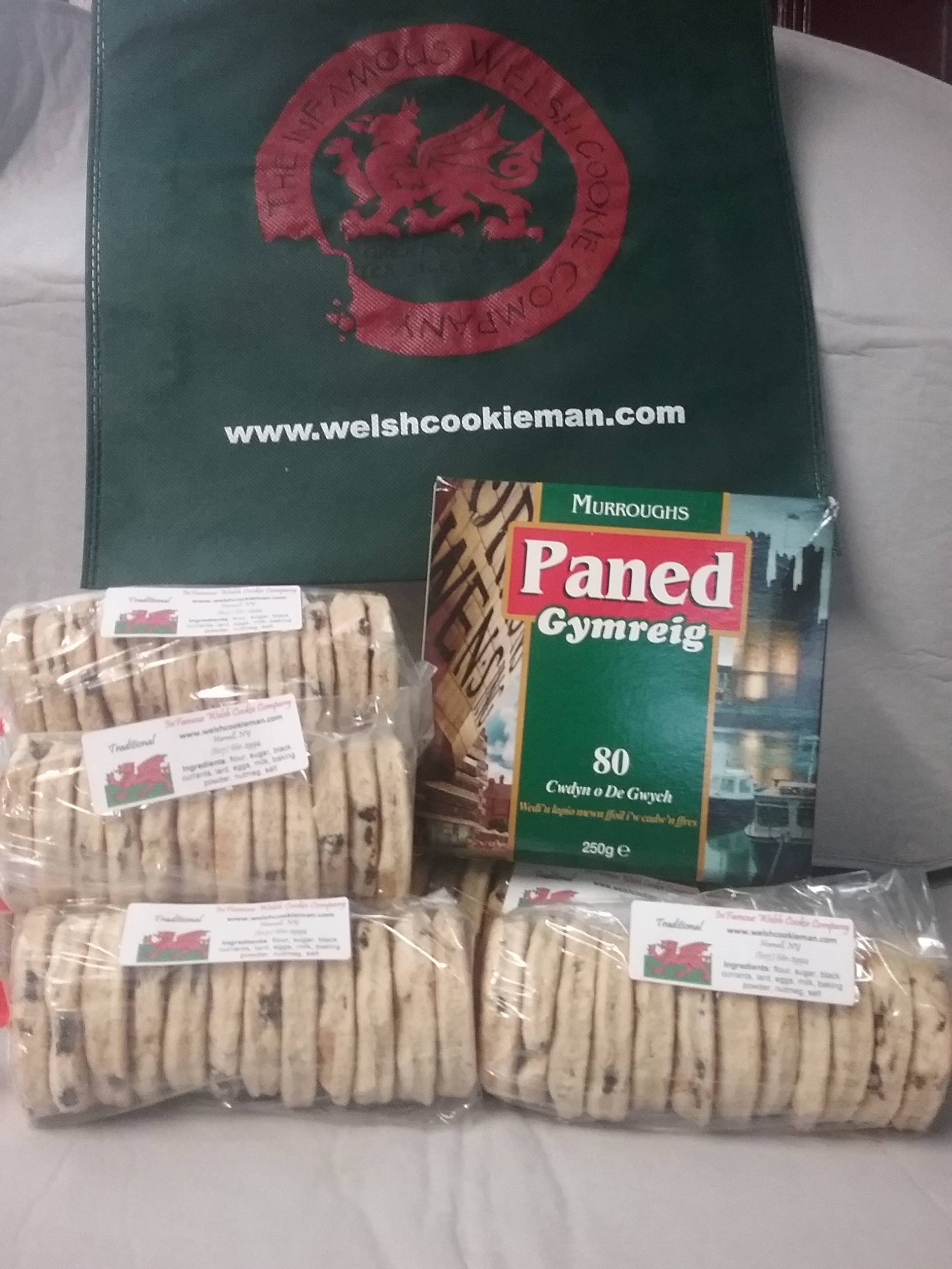 The Infamous Welsh Cookie Company Celtic Festival Online Tea Toe and  Ten