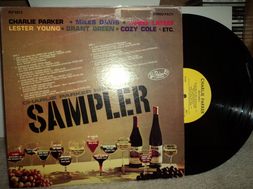 Charlie Parker Records Sampler - Miles, Lateef, Young, Green, Cole 12 tracks on Parker Label