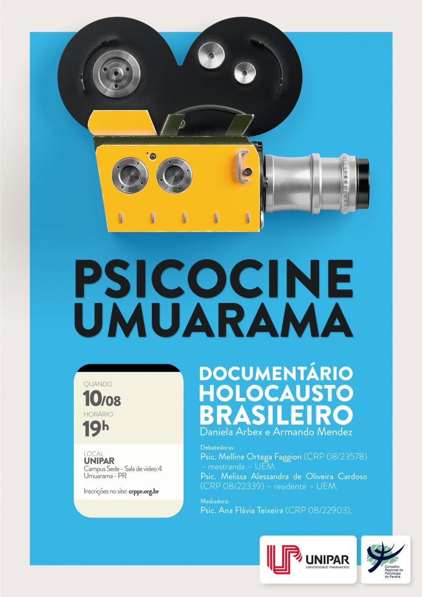 "Psicocine Umuarama - Documentário ""Holocausto Brasileiro\"""