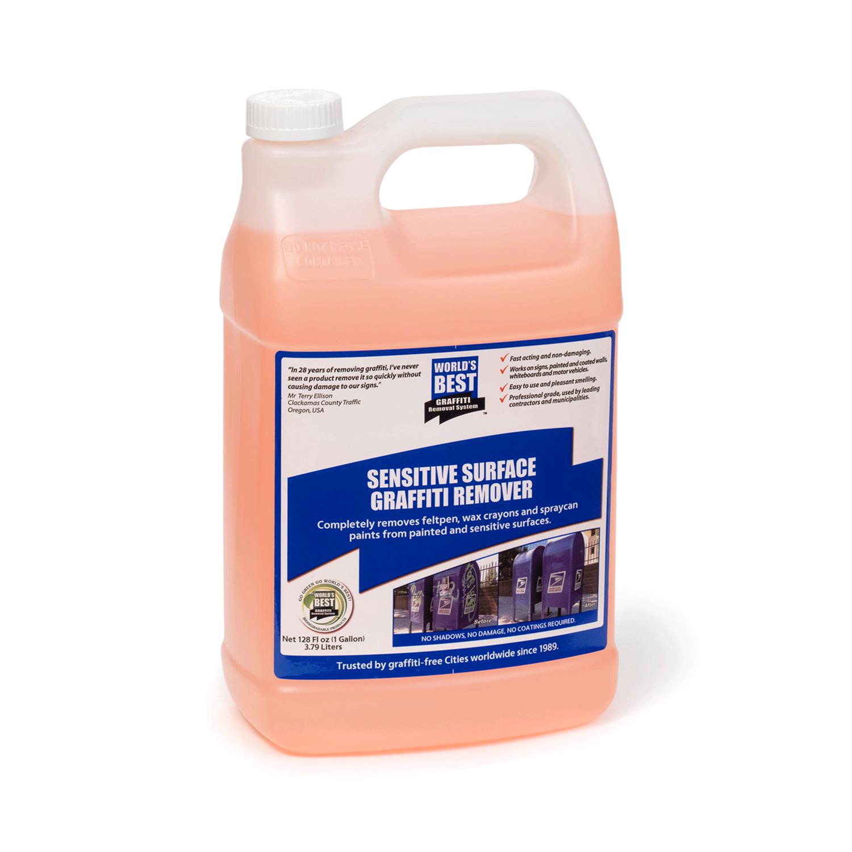 sensitive surface graffiti remover gallon
