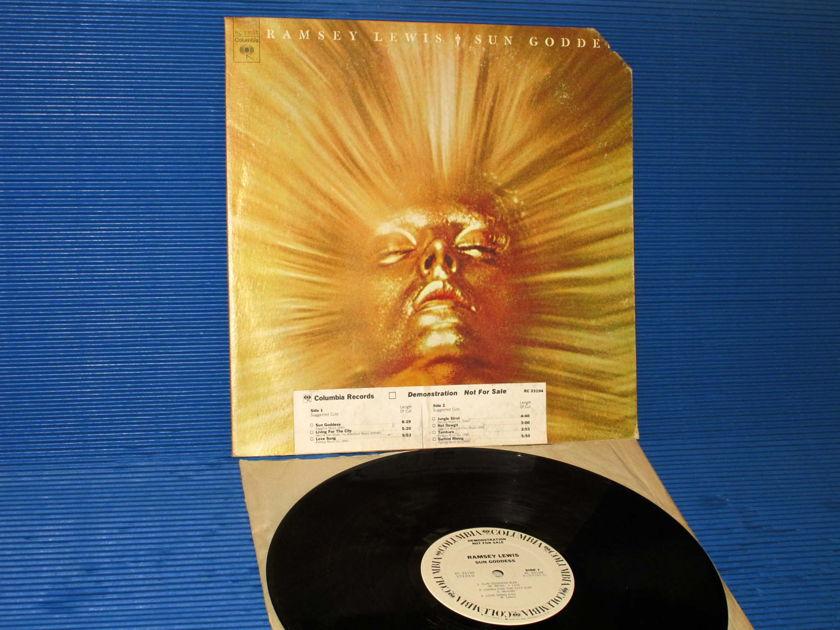 "RAMSEY LEWIS  - ""SUN GODDESS"" -  Columbia 1974 'WLP' w/DJ Timing Strip 1st pressing"