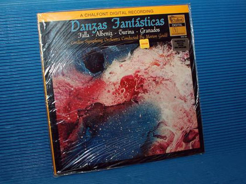 """FALLA/ALBENIZ/TURINA/GRANADOS -  - """"Danzas Fantasticas"""" -  Chalfont 1979 Sealed"""