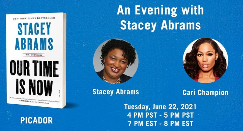 An Evening with Stacey Abrams