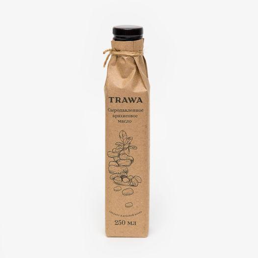 Сыродавленное арахисовое масло TRAWA
