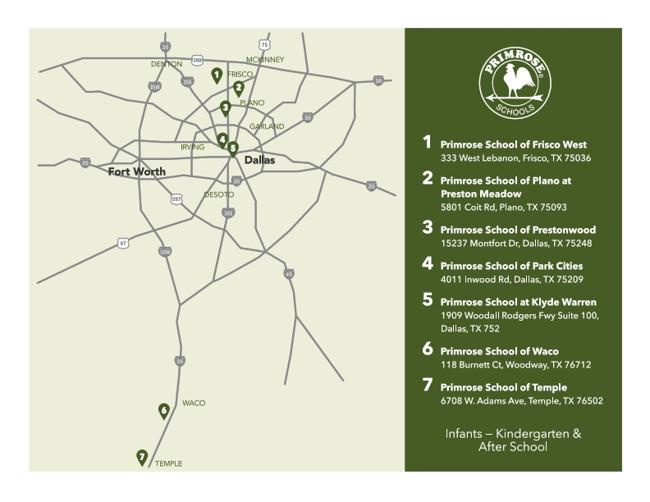 dallas, map