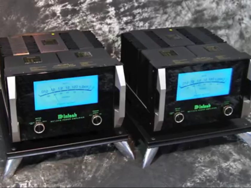 McIntosh MC 1.2kW Mono Amplifiers
