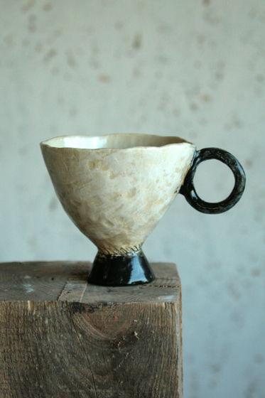 Чаша керамическая Rustic Fog