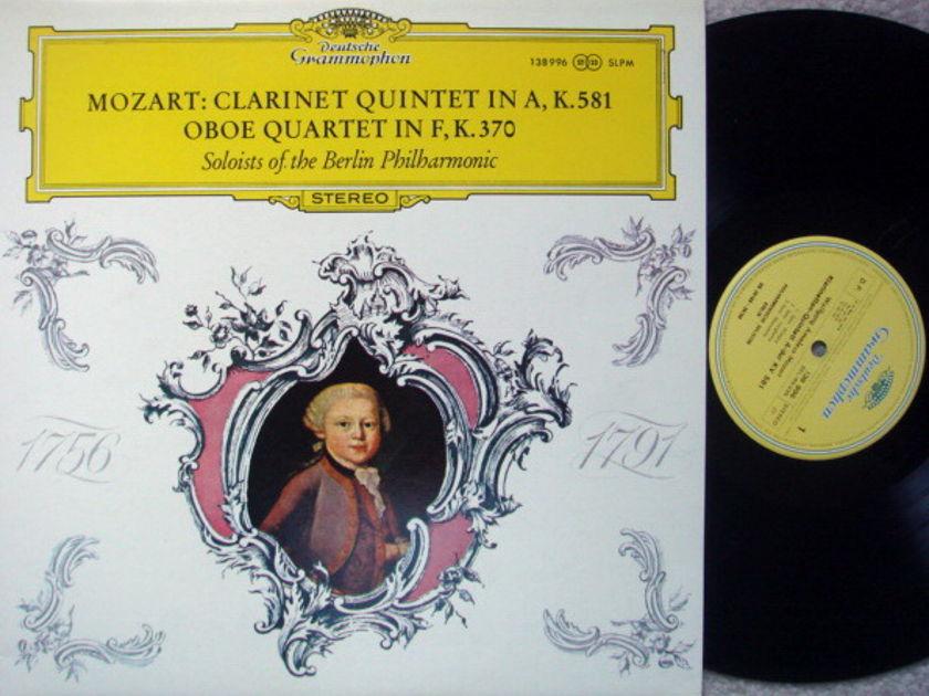 DG / BERLIN PHIL SOLOISTS, - Mozart Clarinet Qunitet, MINT!