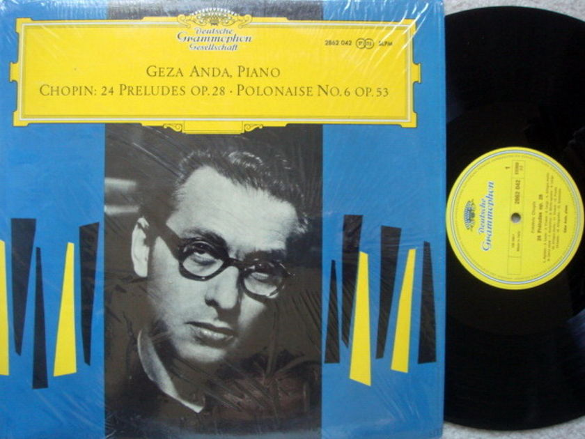 DGG / GEZA ANDA, - Chopin 24 Preludes, MINT!