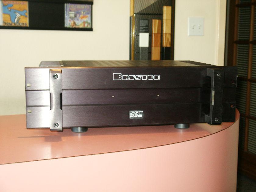 Bryston  3BSST amplifier