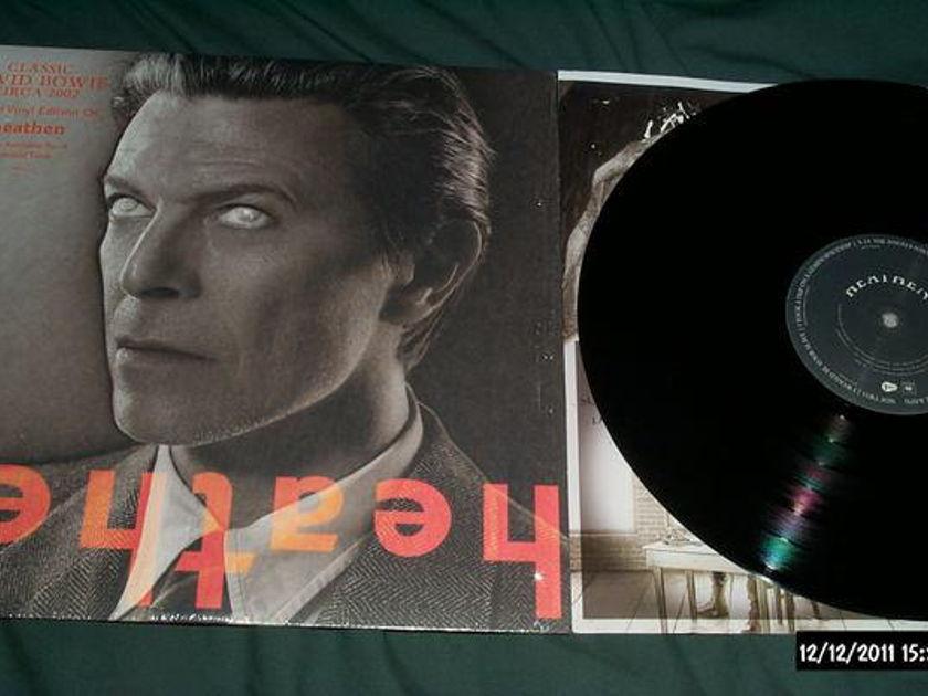 David bowie - Heathen rare vinyl lp nm