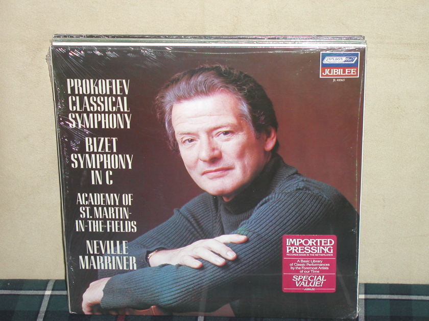 Marriner/AoStMitF - Prokofiev Classical/Bizet Symphony in C London JL41065 Jubilee/Holland press STILL SEALED/NEW